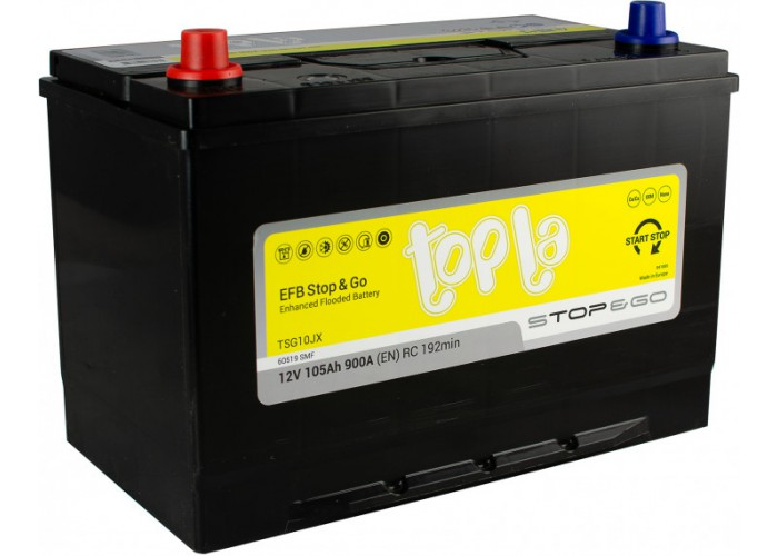 Topla EFB 105Ah L (112105) Asia